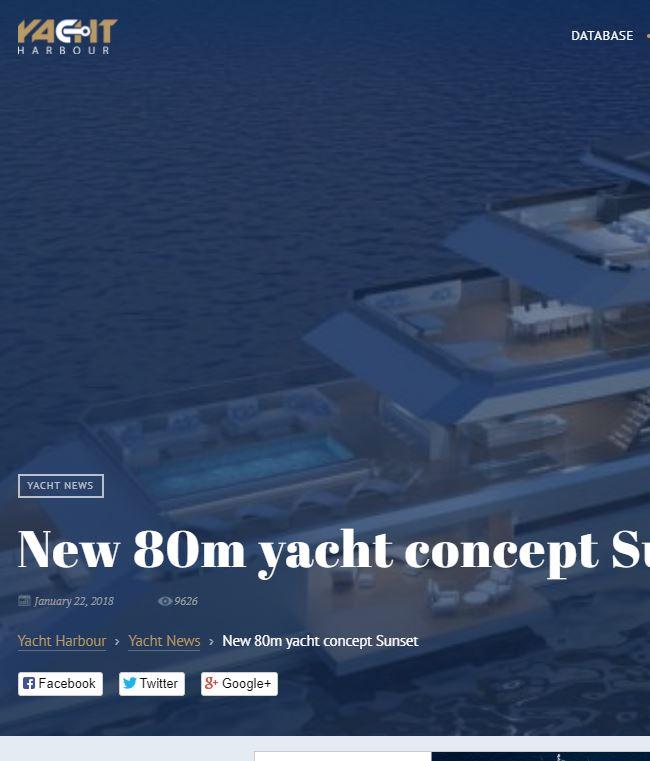 Yacht harbour- Sunset